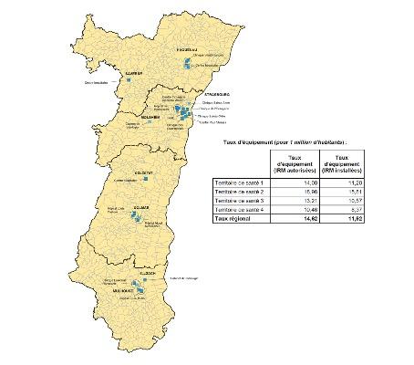 Carte Lalsace.L Alsace Soigne Son Parc D Irm